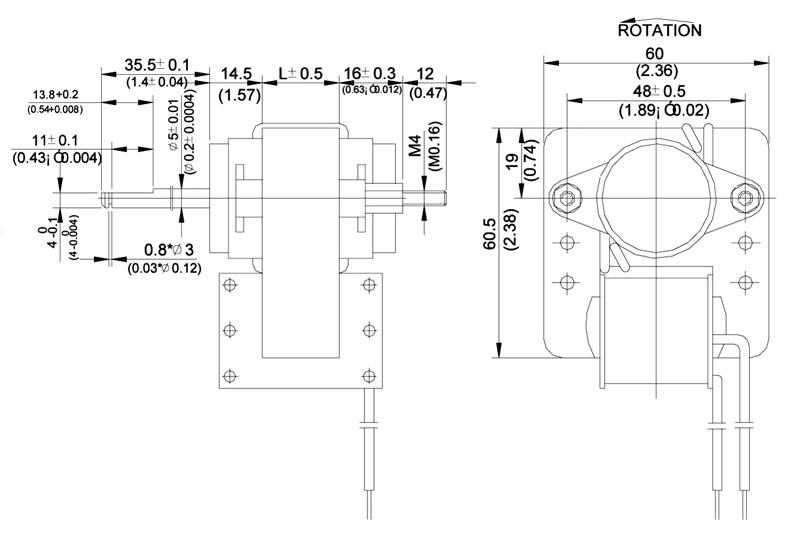 Model Number Pm6012 1 Ac Motor C Frame Model Pm60 On Pelonis Technologies Inc