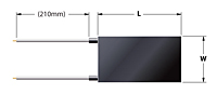 Standard Rectangular Ultra-Thin Flexible Heaters - 2