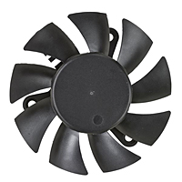 PLA07015B-E Series Type E Frameless Fans