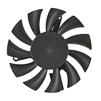 PLD06010B-D Series Type D Frameless Fans