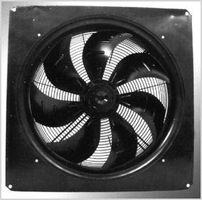 Model Number FZ500B0000-106-075-4-4, 500mm AC Axial Fan On Pelonis