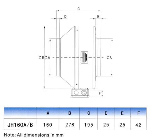 inline duct fan wiring diagram