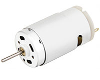 PTRS-395SA Carbon Brushed Direct Current (DC) Micro Motors
