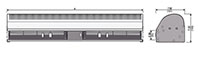 JAC-110 Series Alternating Current (AC) Air Curtains - 2