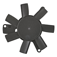 PLD05010B-K Series Type K Frameless Fans