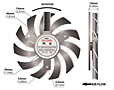 PLD08010B-C Series Type C Frameless Fans - 2