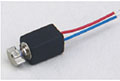 0.35 Inch (in) Housing Length and 5 Millimeter (mm) Width Coreless Direct Current (DC) Micro Motor
