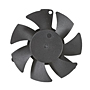 PLD05010B-F Series Type F Frameless Fans